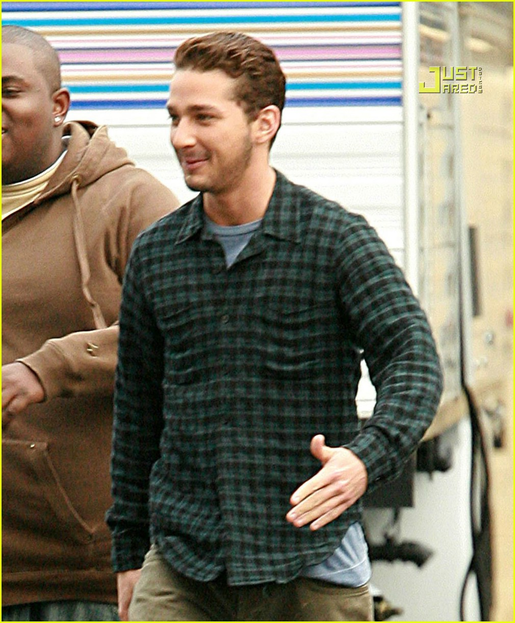 shia labeouf plaid 01