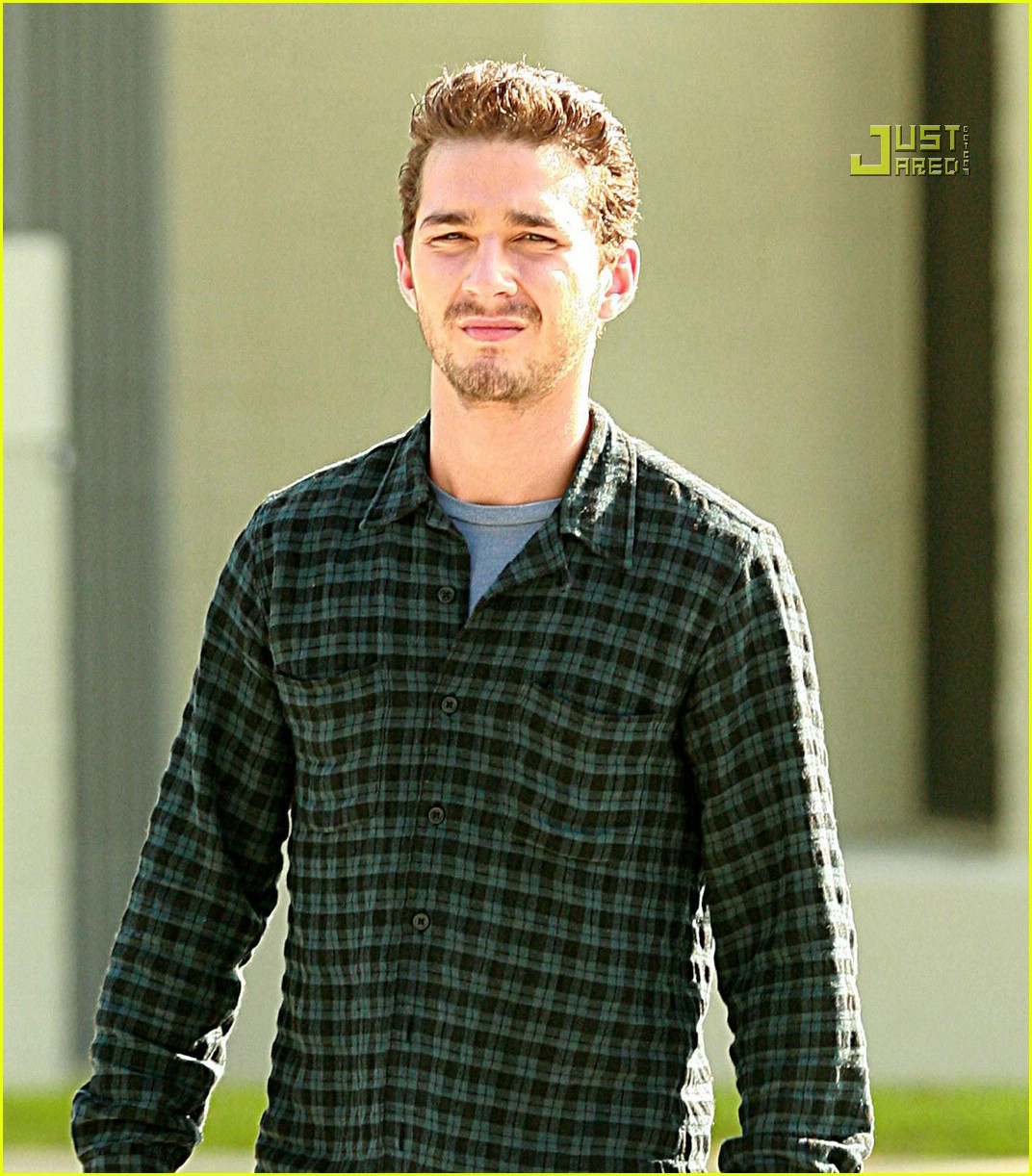 shia labeouf plaid 18