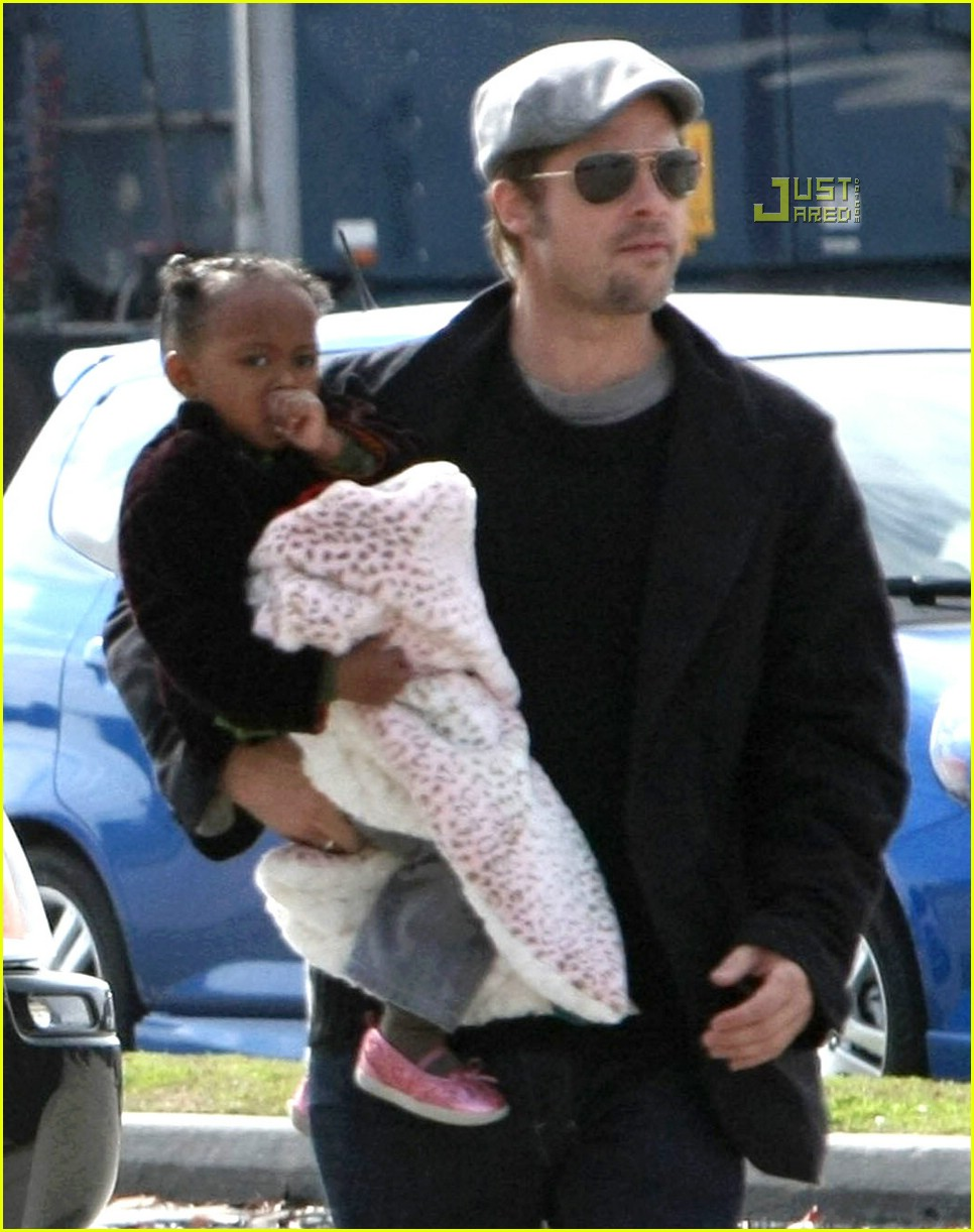 brad angelina movie day out 11