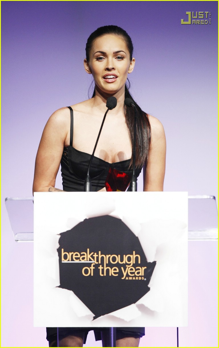megan fox breakthrough awards 14