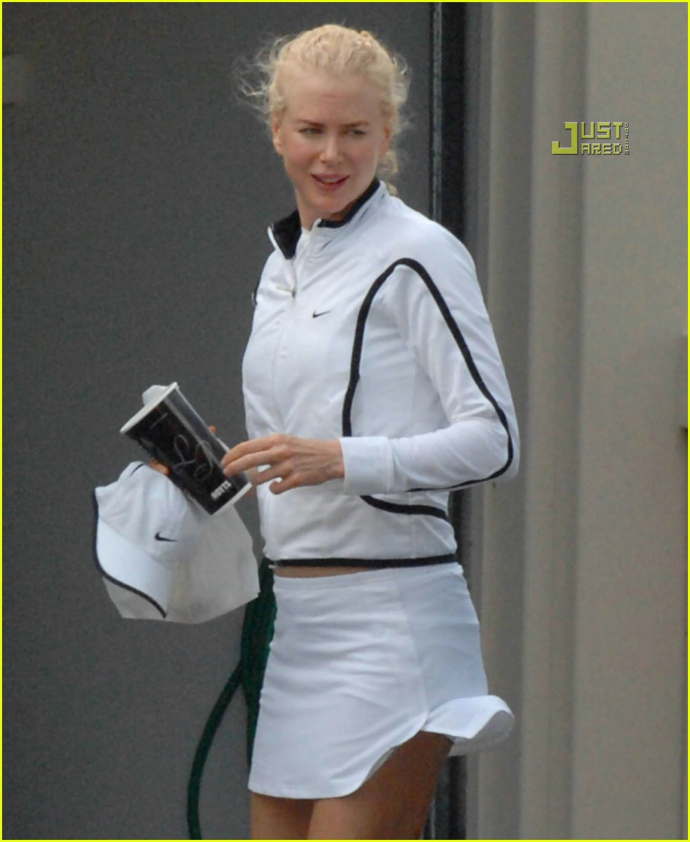 nicole kidman keith urban matching tennis outfits 02