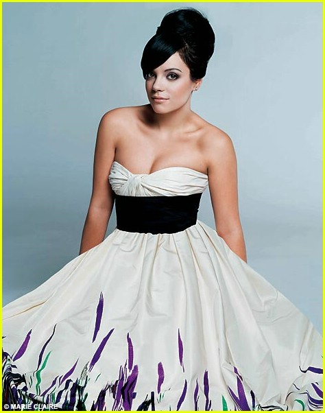 Full Sized Photo Of Lily Allen Marie Claire Uk 01 Photo