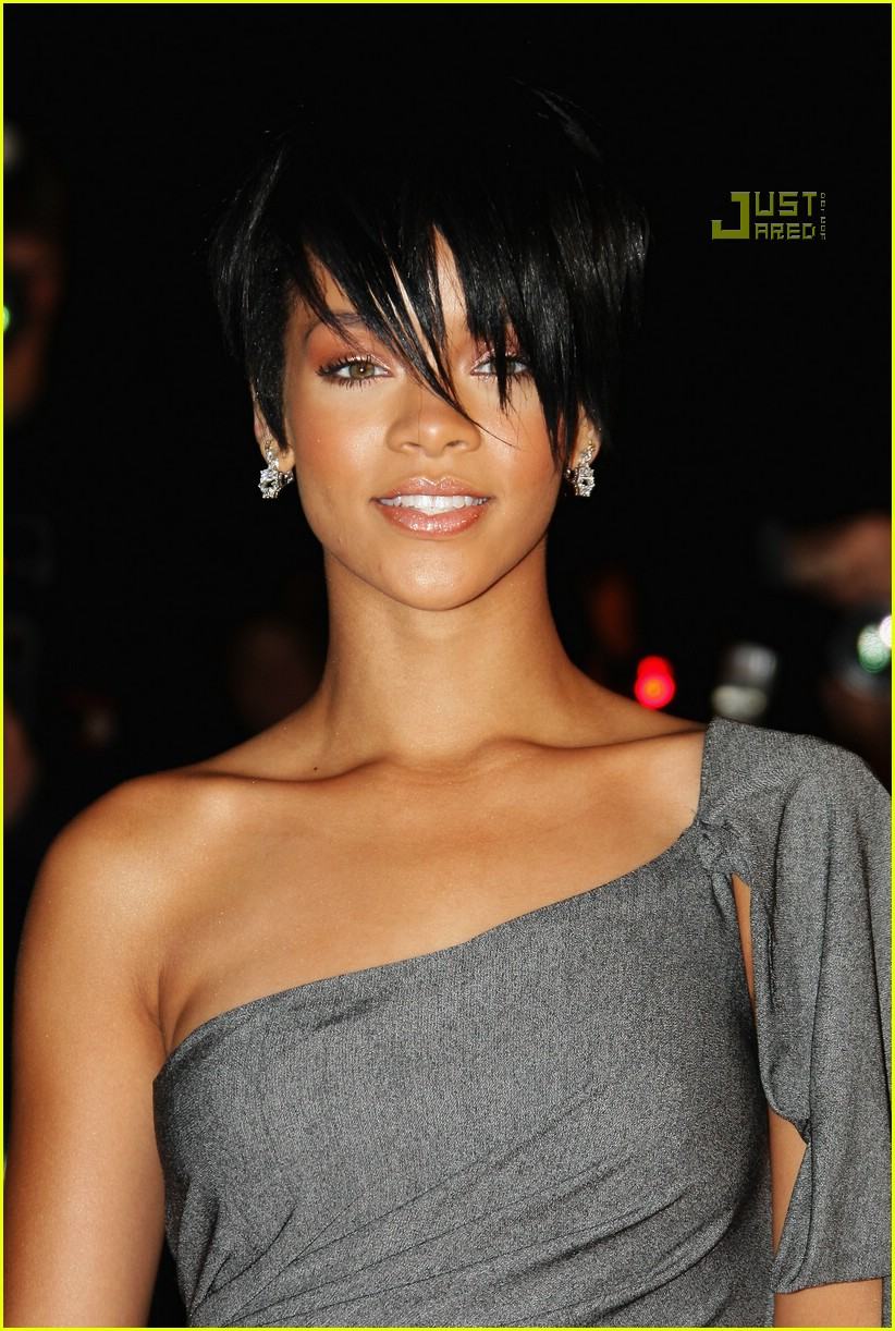 rihanna super short hair 03