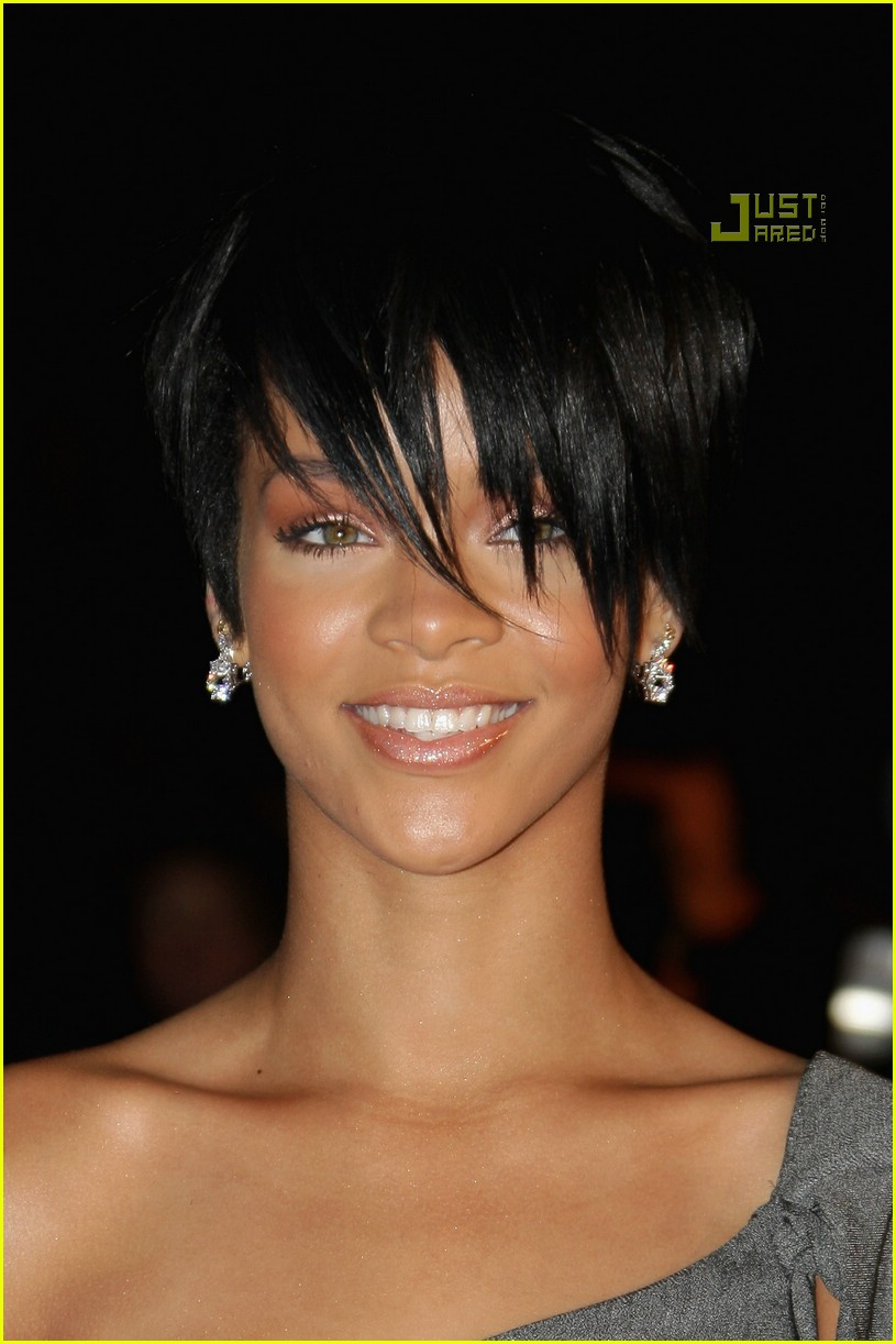 rihanna super short hair 08
