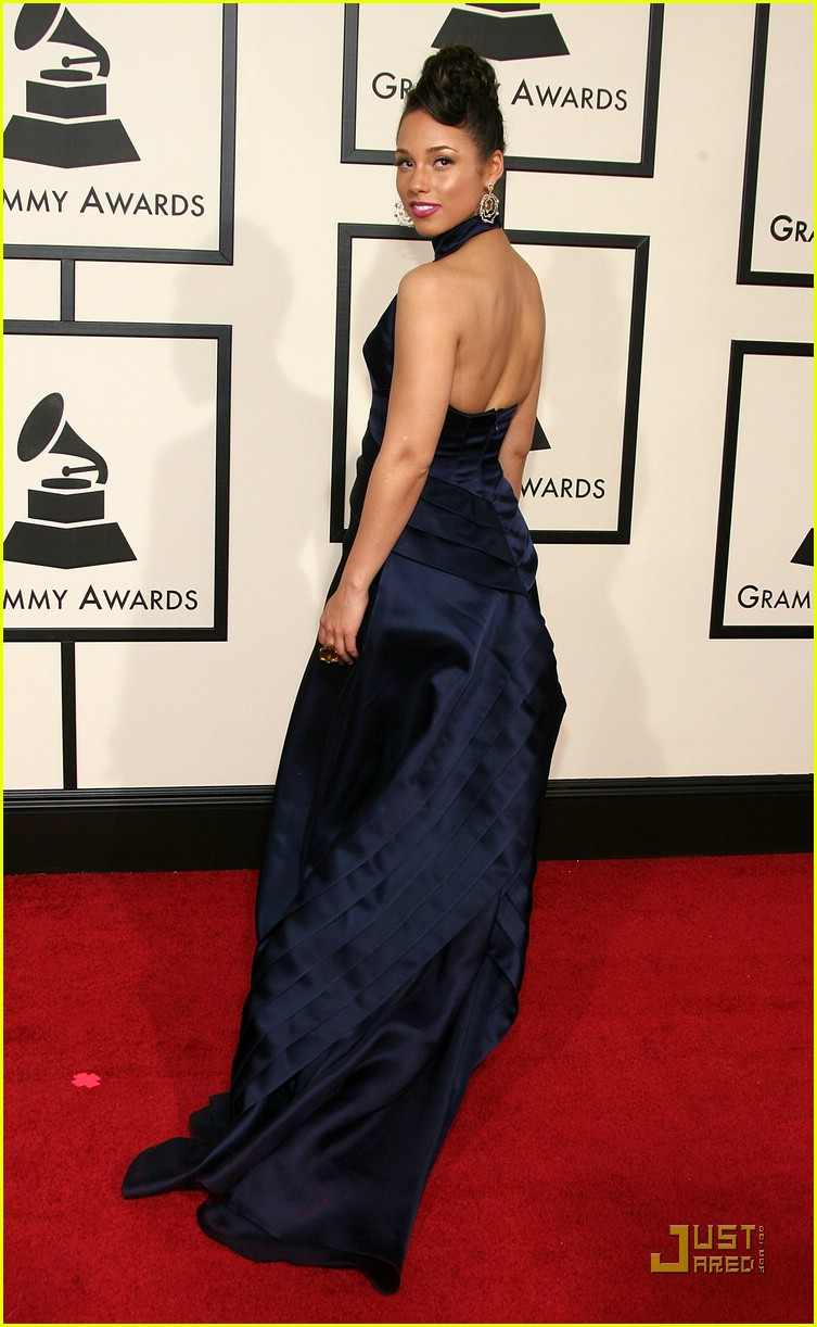 alicia keys grammys 2008 80922561