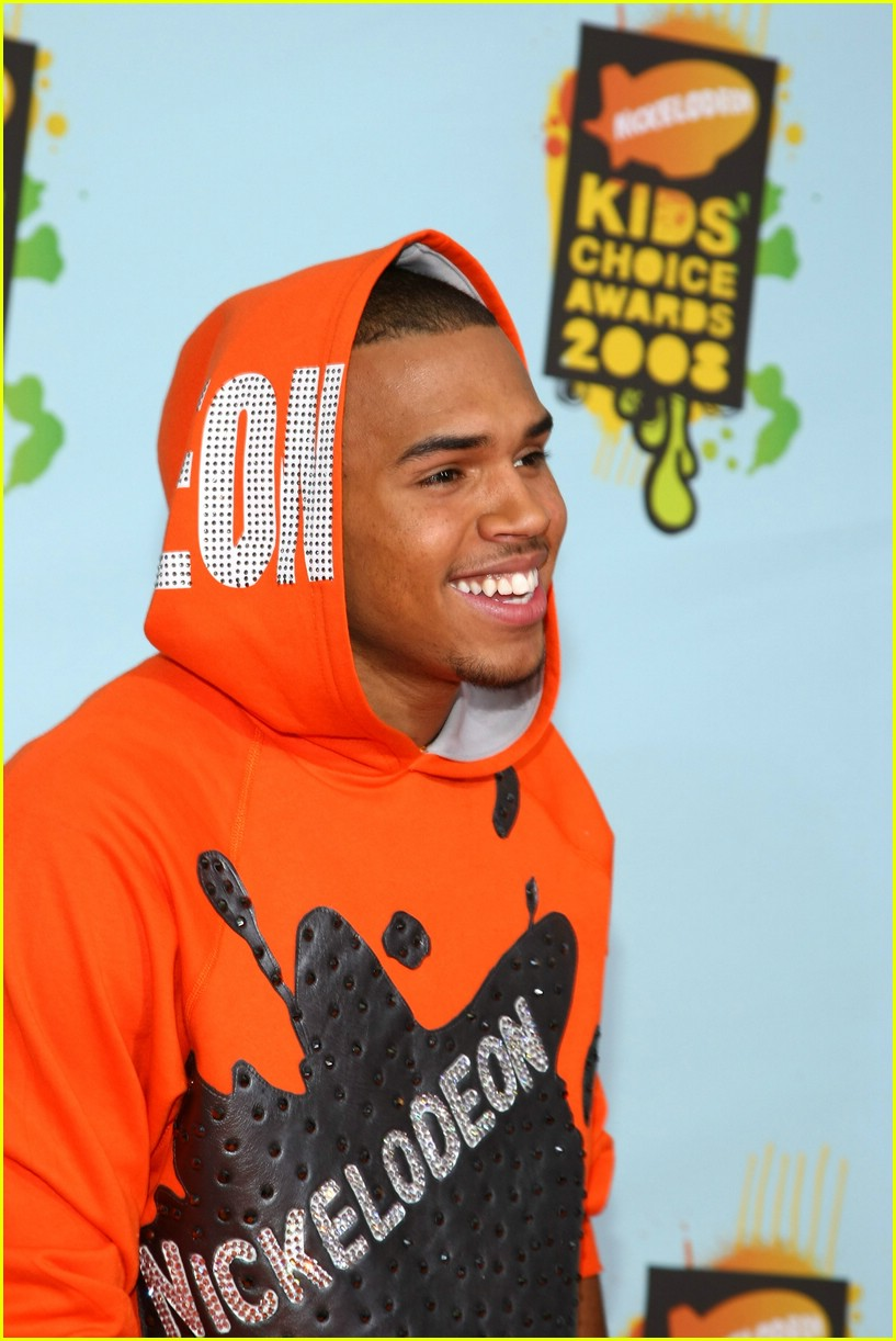 Chris Brown 2008 Chris Brown   Kids  Choice