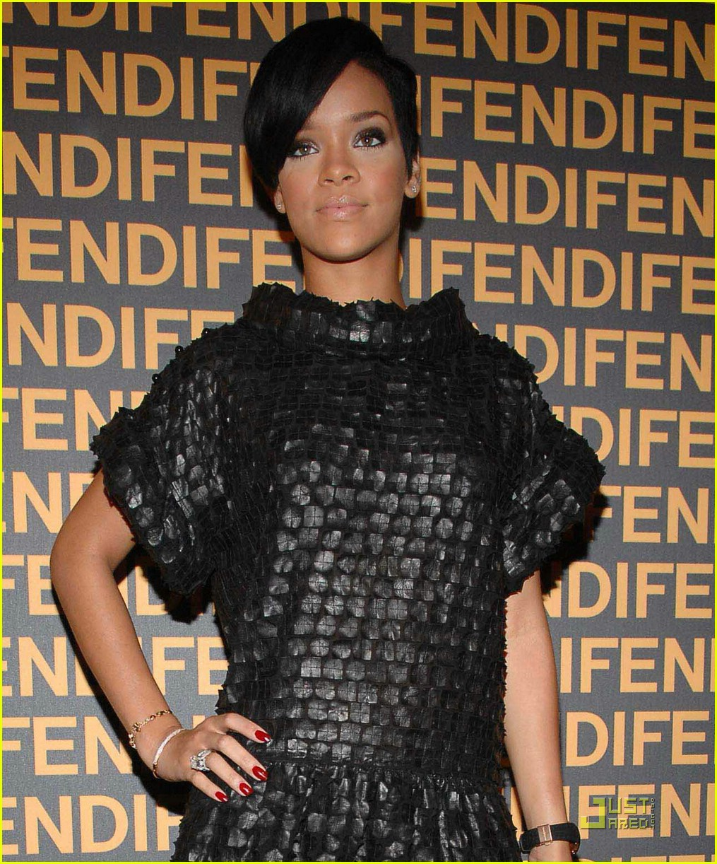 posted in rihanna fendi store launch 2008 fendi store