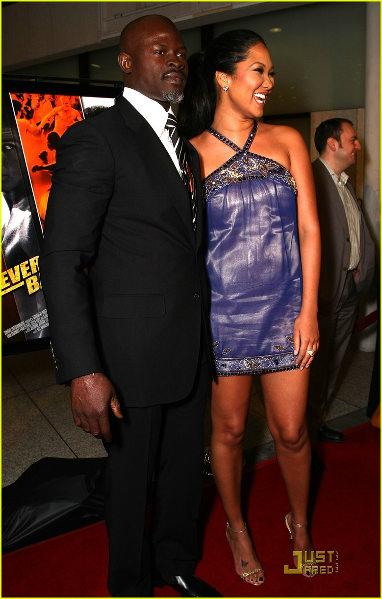 kimora lee djimon hounsou never back down 05975361