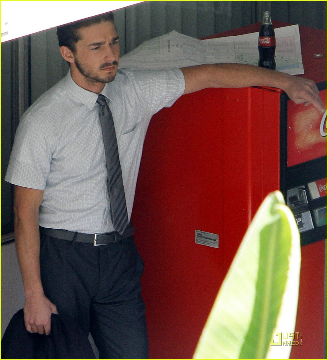 Shia LaBeouf Has a Sexy Stomach Shia Labeouf