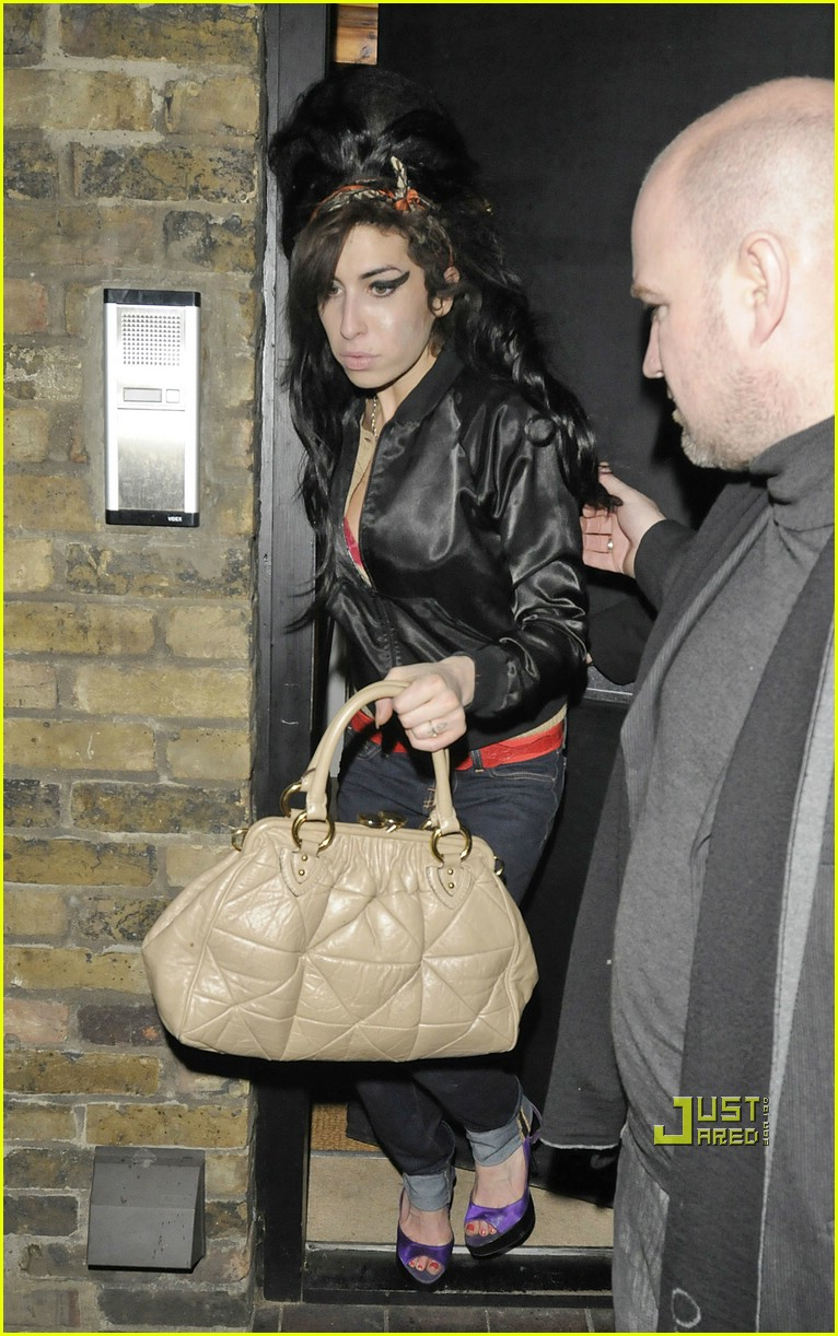 amy winehouse fashion week 07