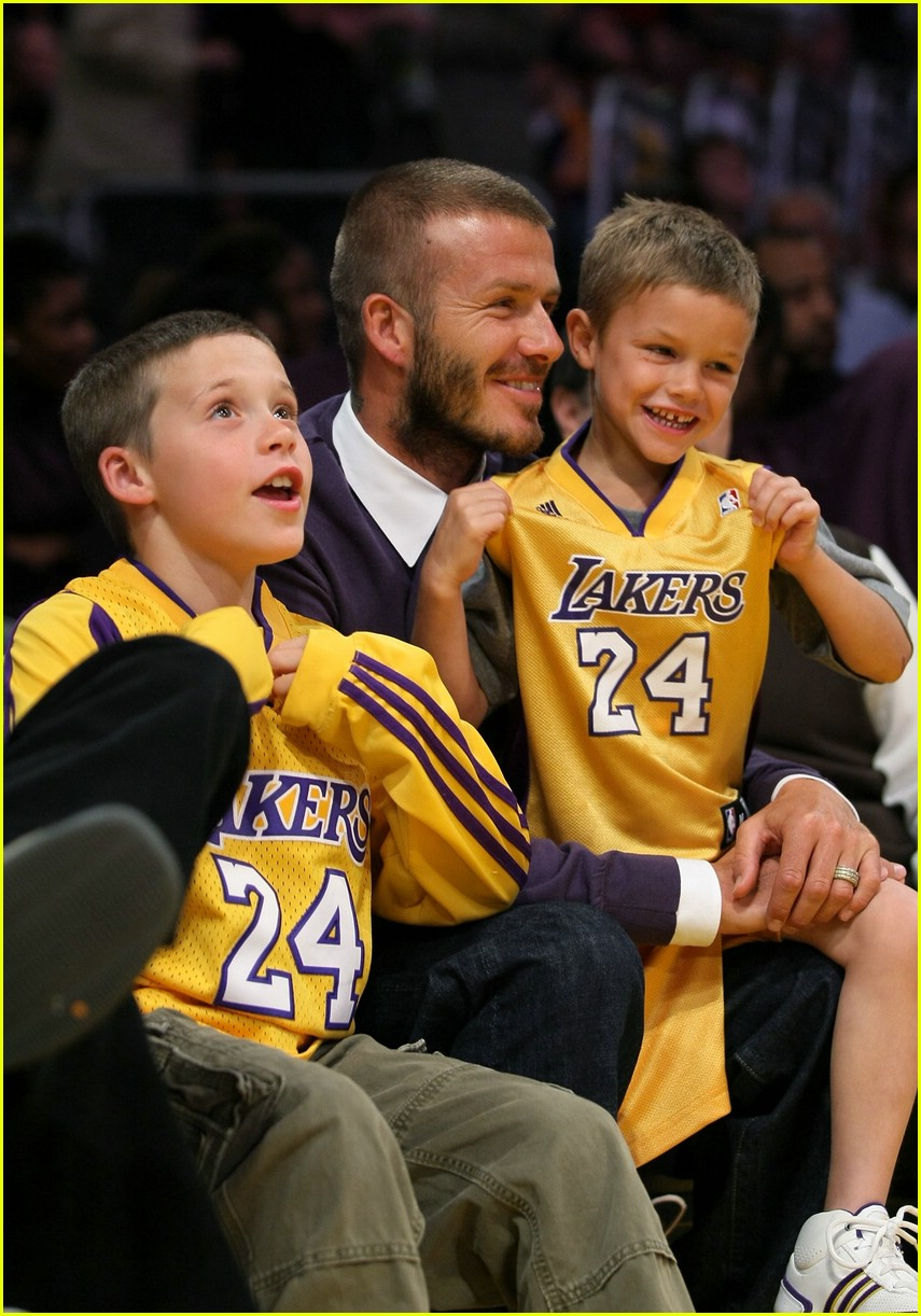 david beckham lakers 06