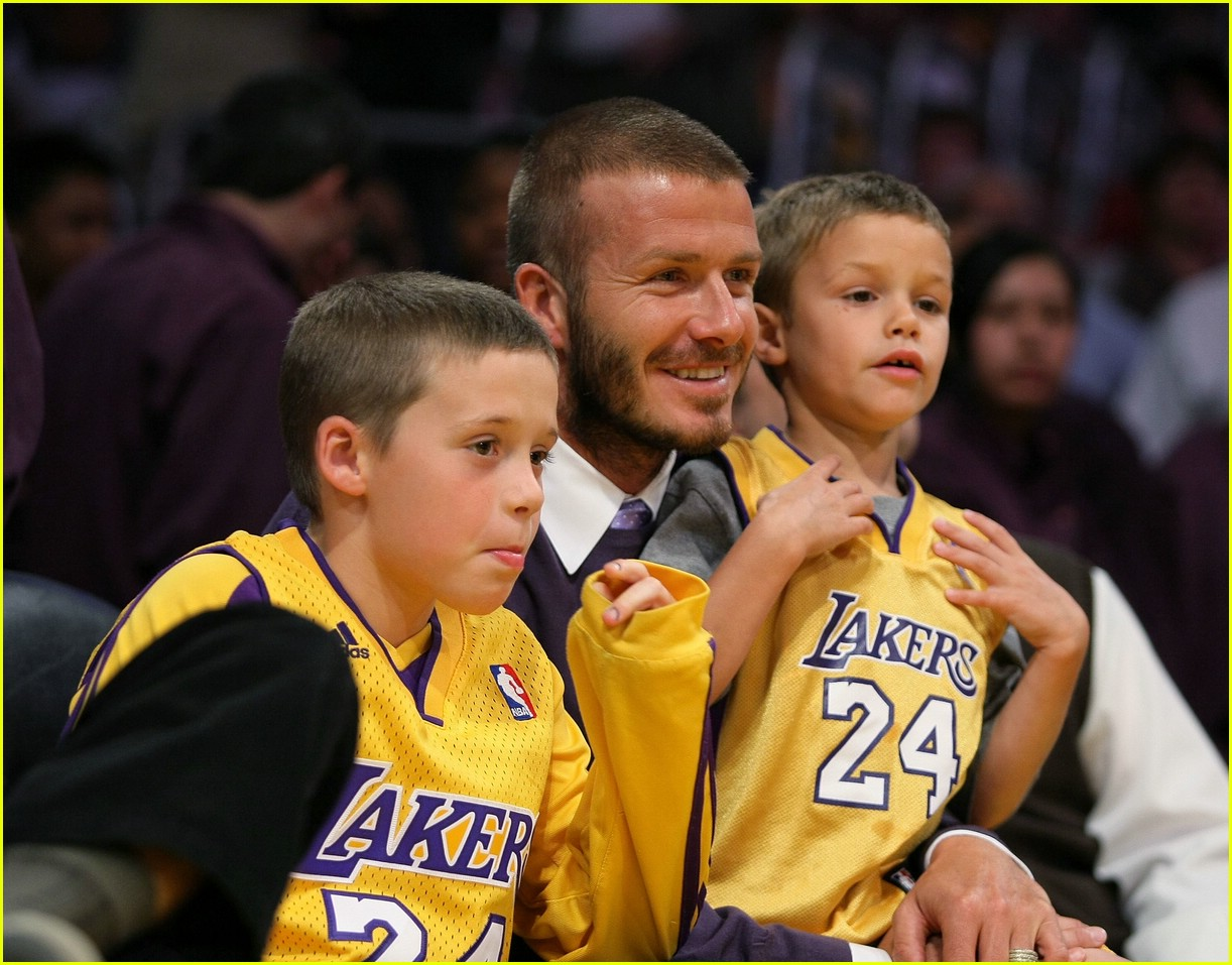 david beckham lakers 07