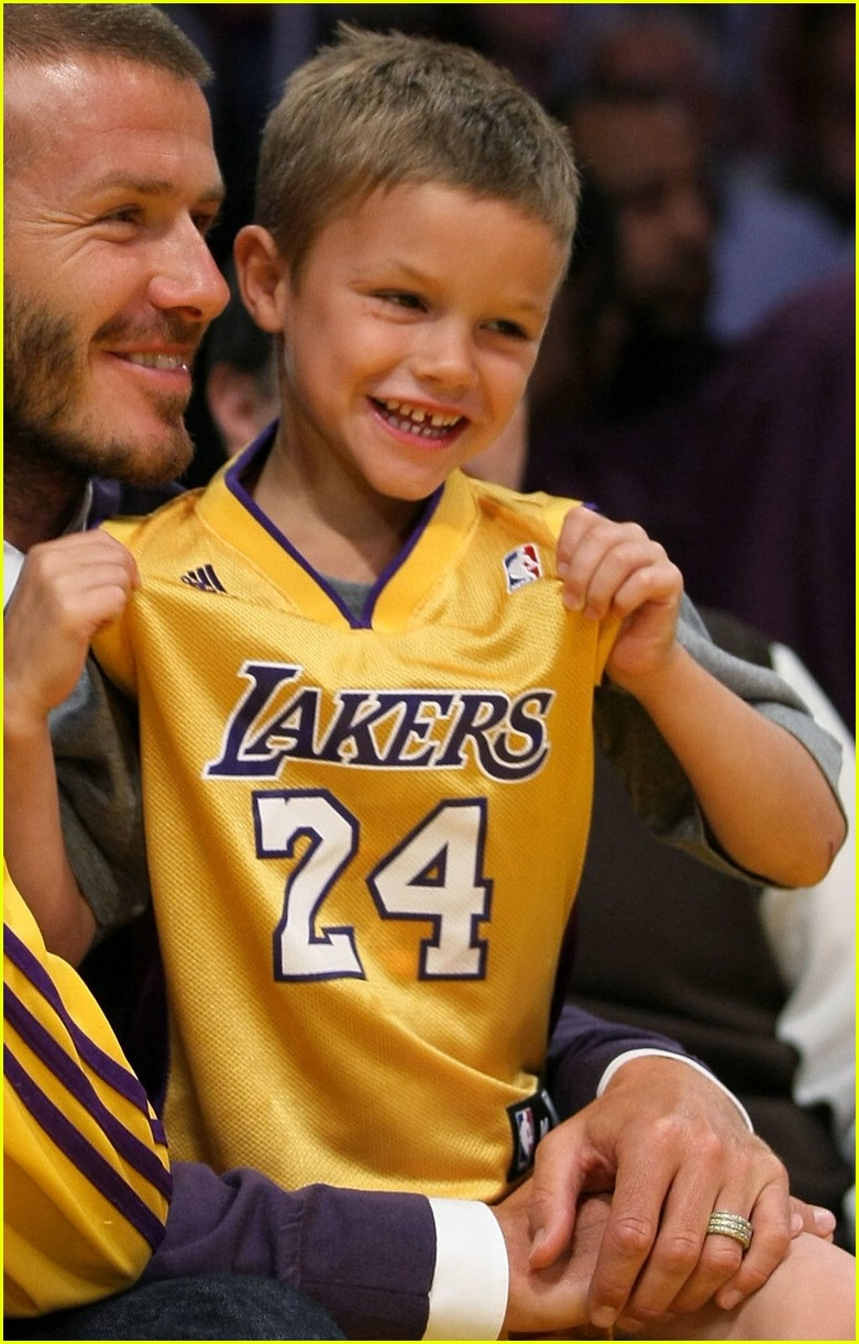 david beckham lakers 10