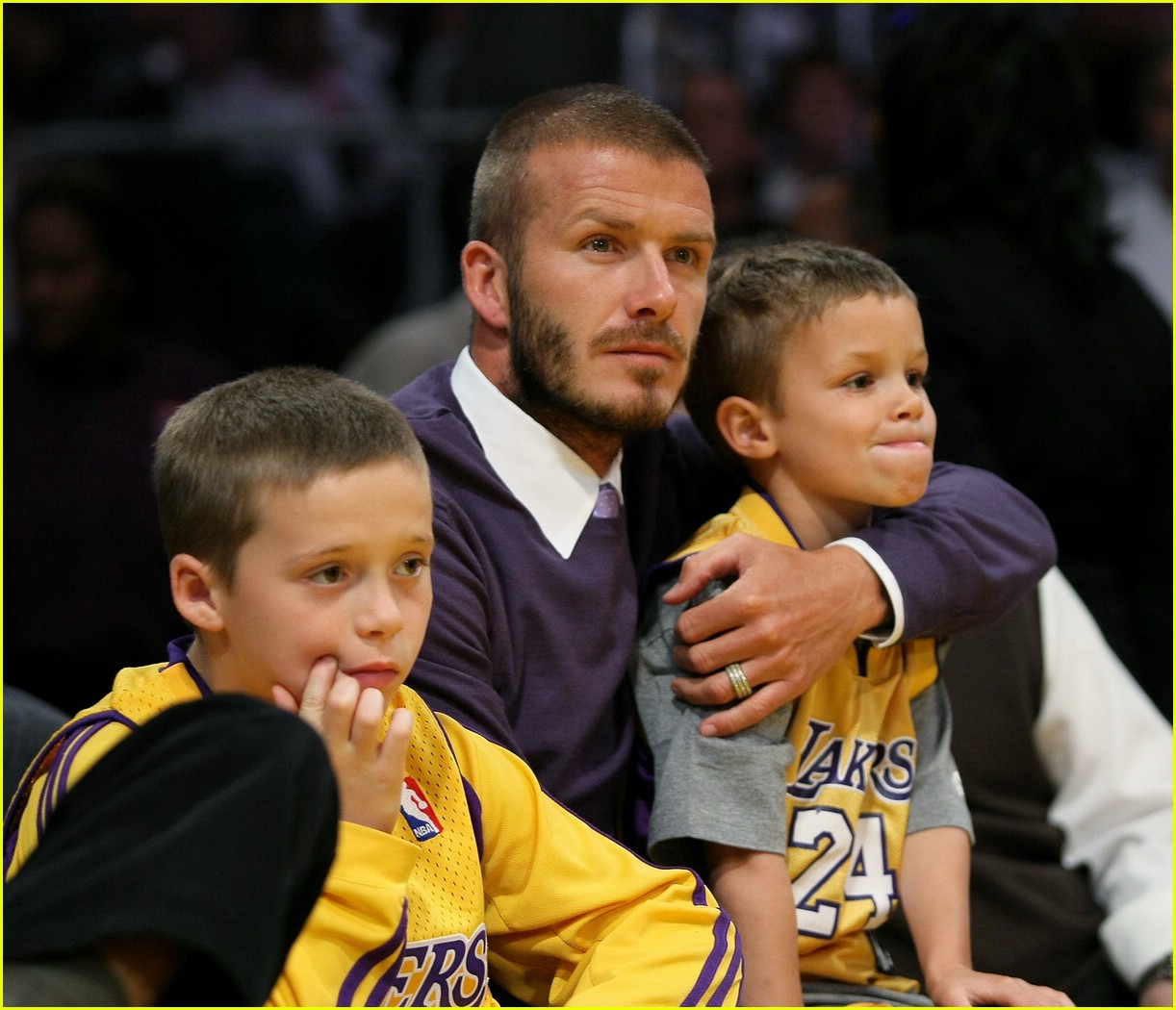 david beckham lakers 11