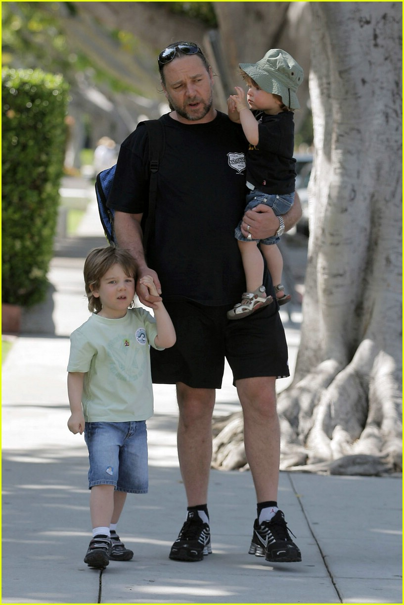Russell Crowe: Kids an...