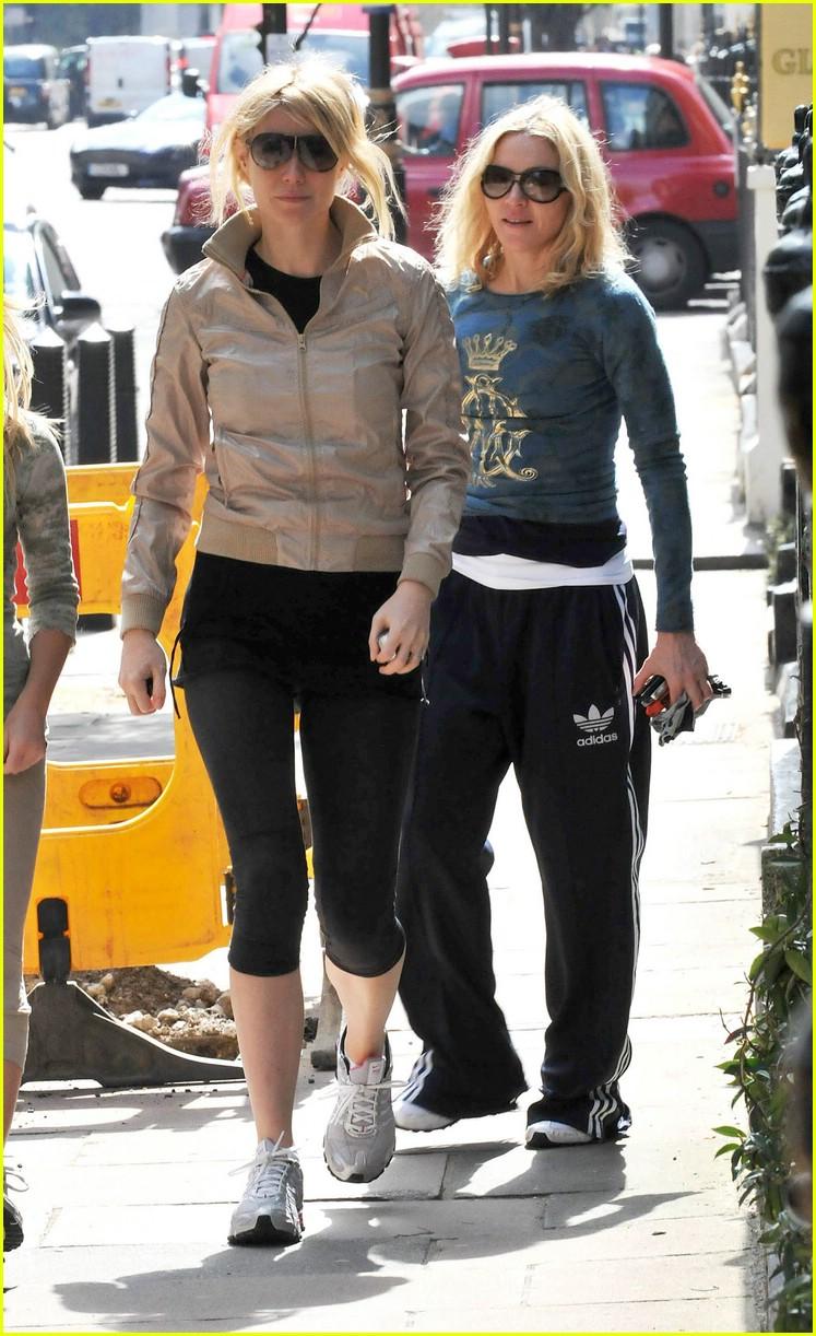 Gwyneth Paltrow & Madonna: Trim and Trimmer! Gwyneth Paltrow