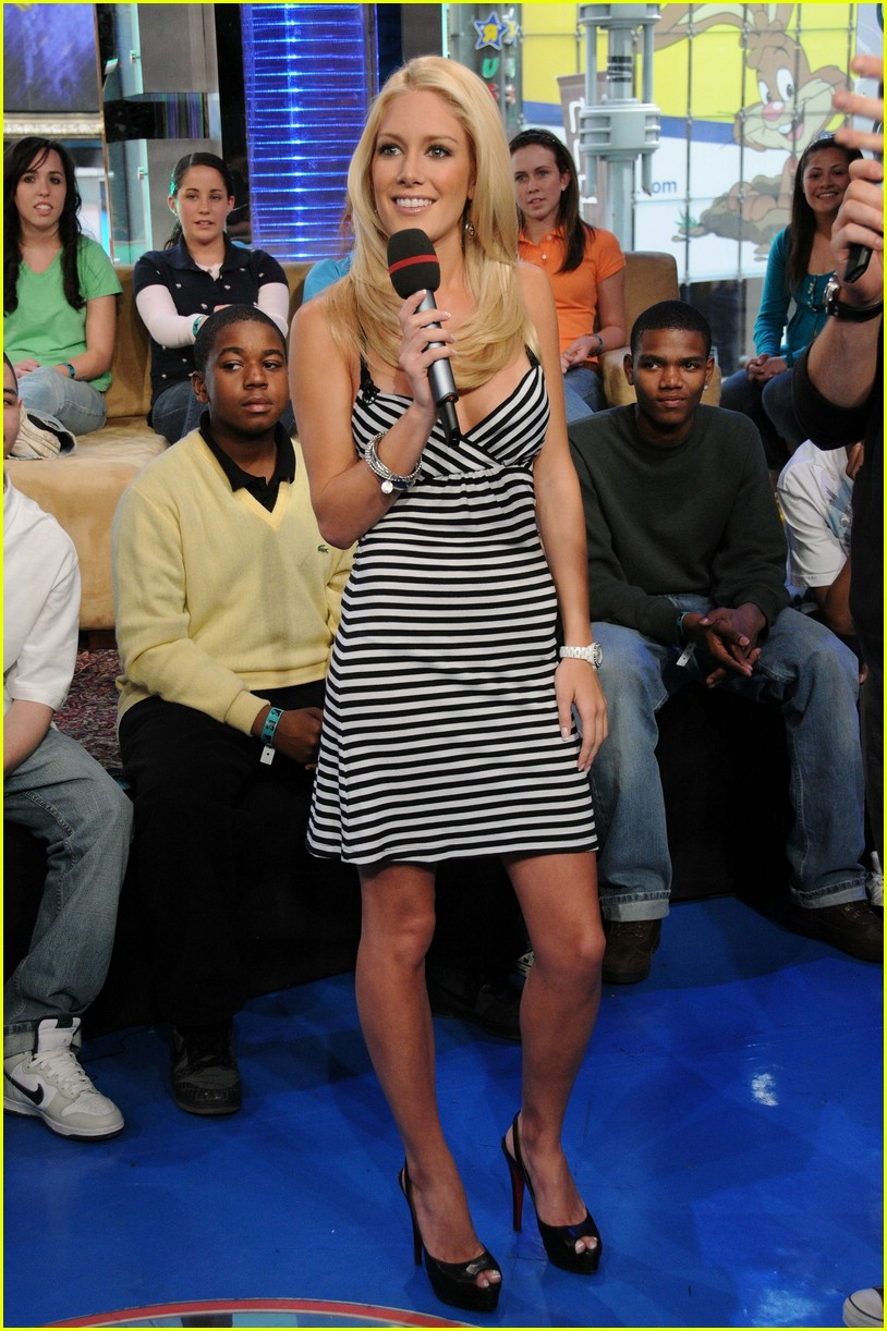 heidi montag rapping on trl 03