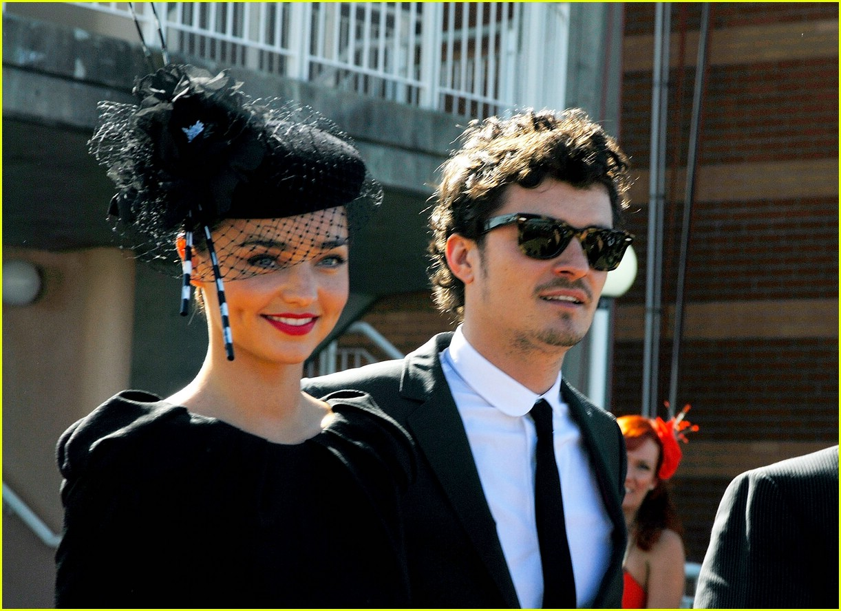 orlando bloom miranda kerr derby 04
