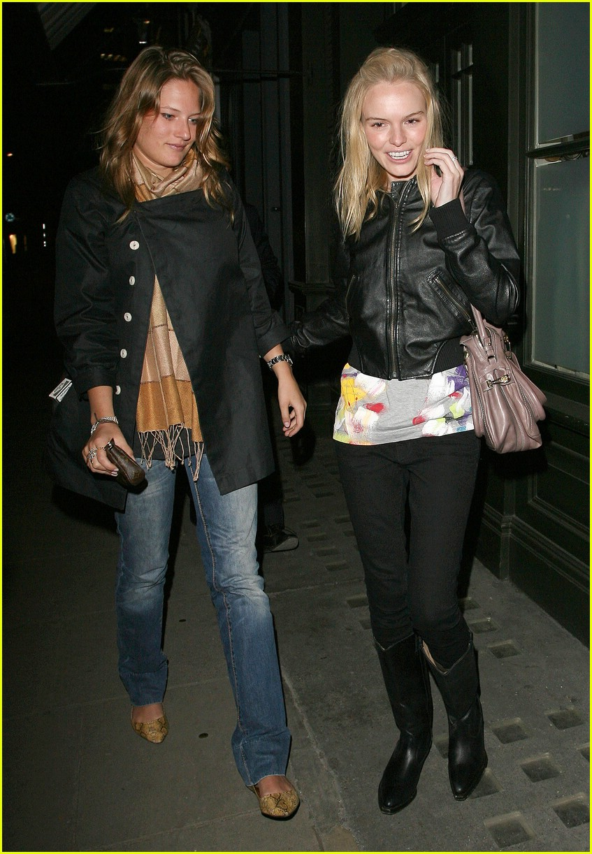 Kate Bosworth Lets Loose in London Kate Bosworth