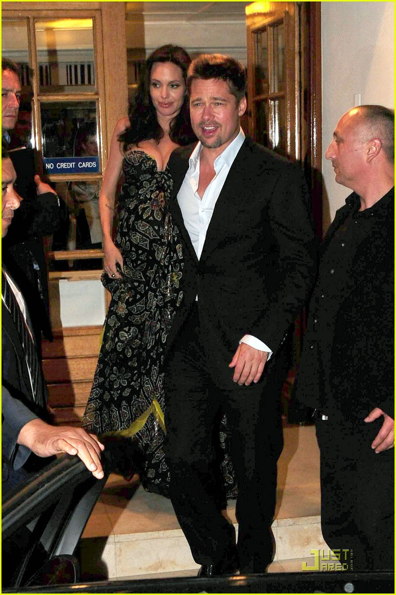 brad angelina dinner date 021141821