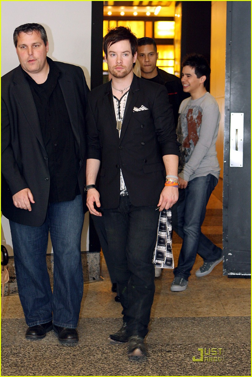 david cook and dating