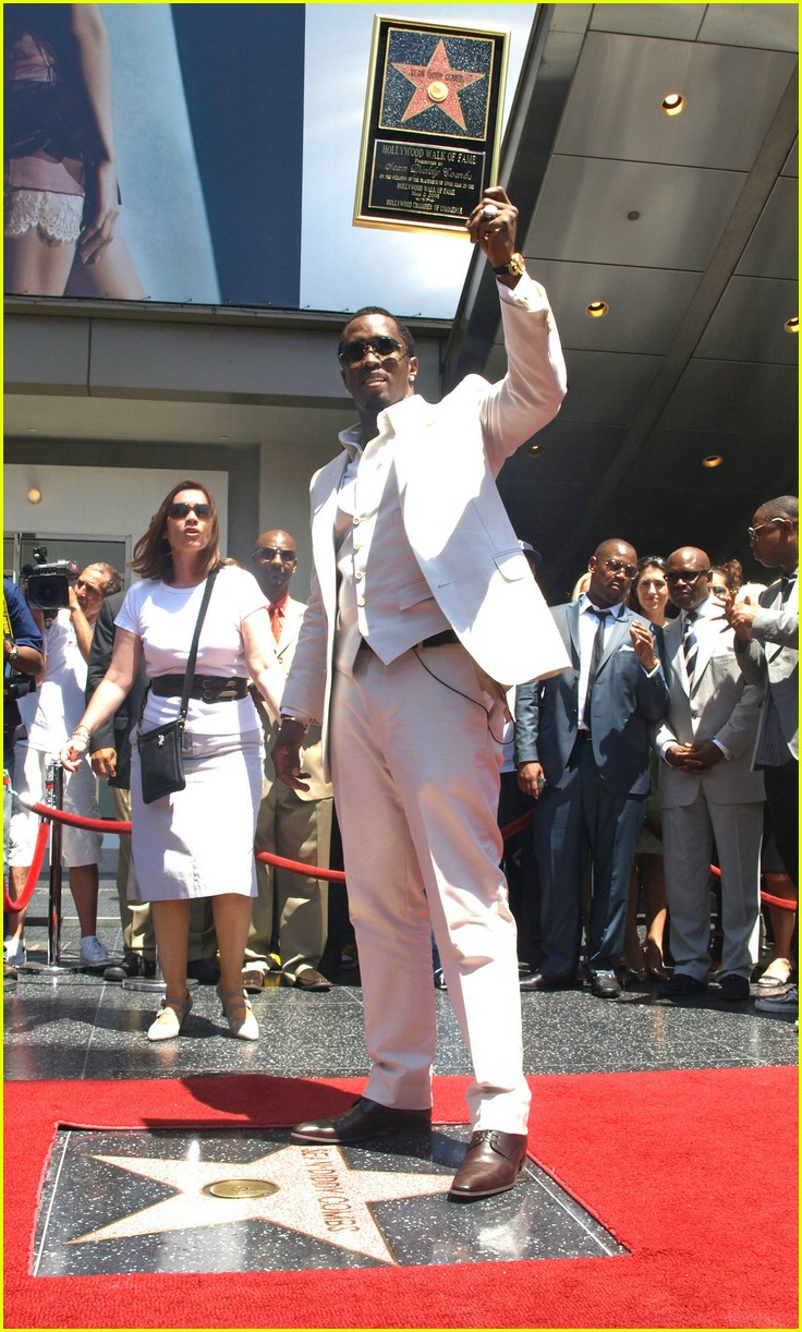 diddy hollywood walk of fame star 11