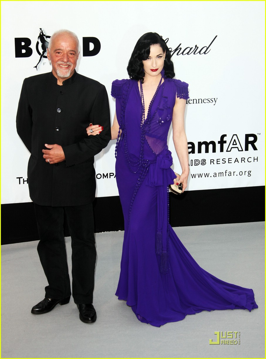 dita von teese amfar cinema against aids 02