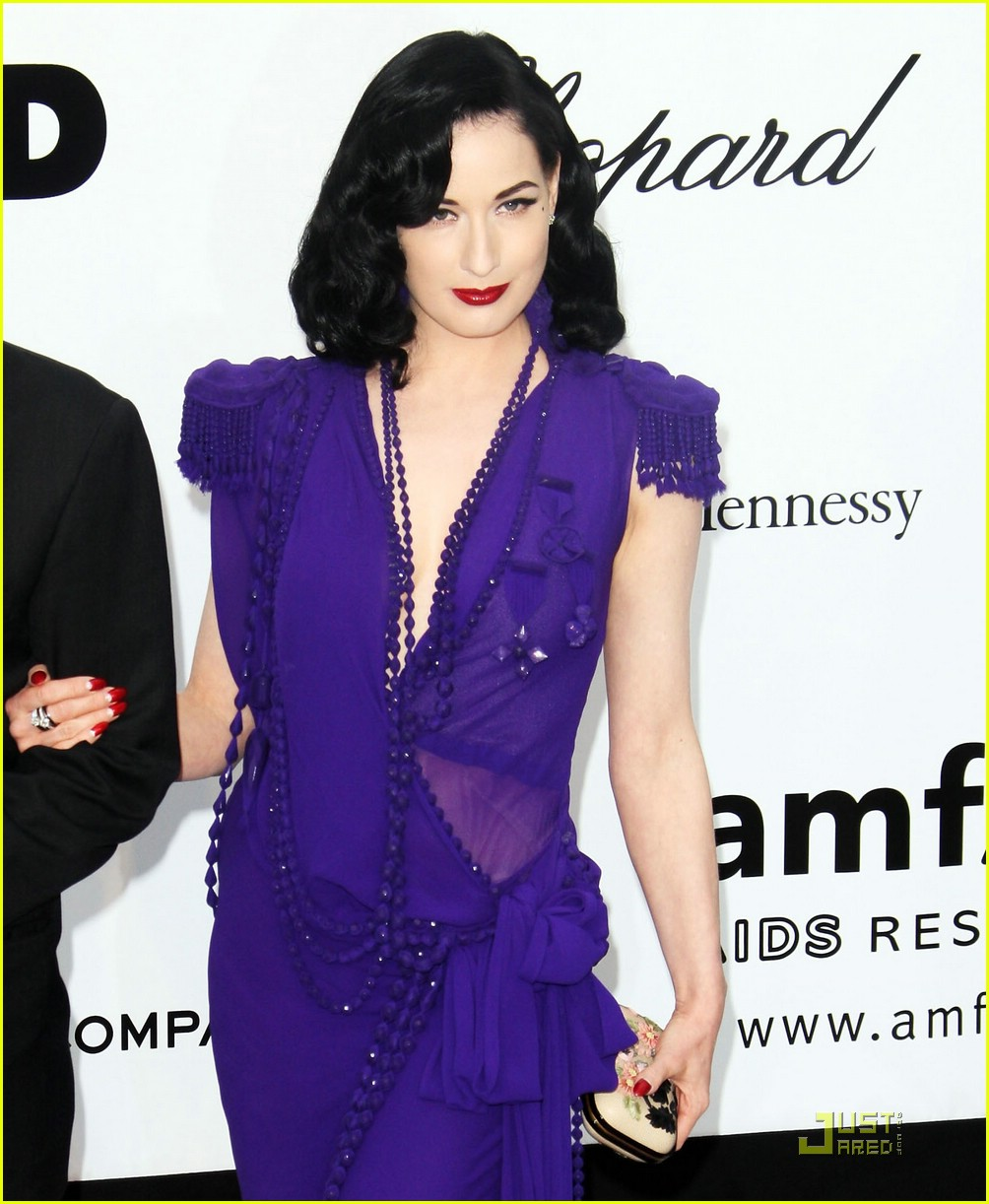 dita von teese amfar cinema against aids 081149011