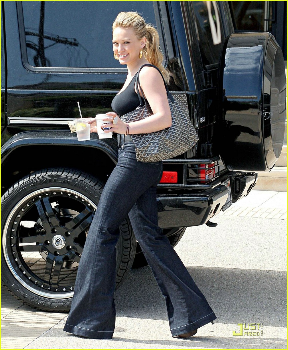 hilary duff goyard 12