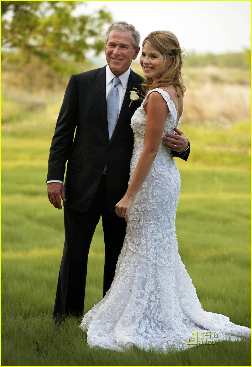 jenna bush wedding pictures 01