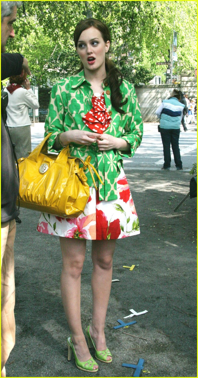 leighton meester green gossip girl 24
