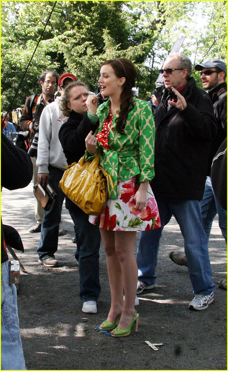 leighton meester green gossip girl 49