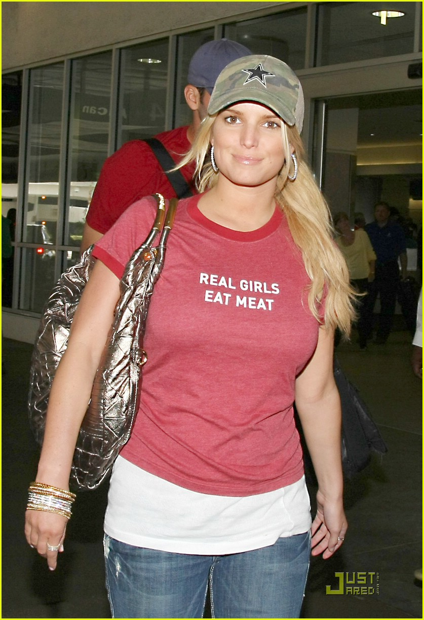 jessica simpson real girls eat meat 081201761
