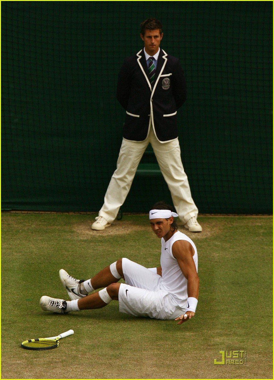 who won wimbledon rafael nadal 40
