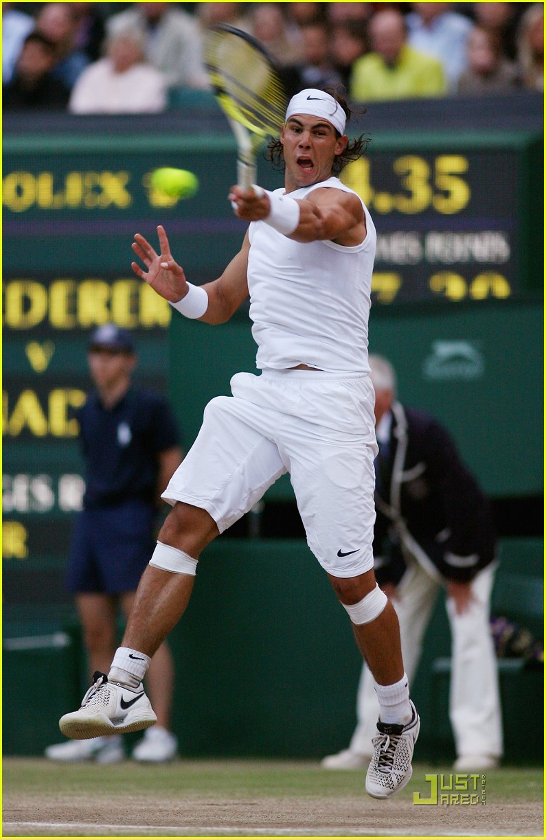 who won wimbledon rafael nadal 74