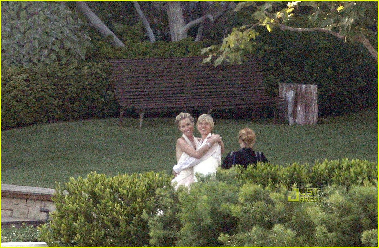 ellen degeneres wedding pictures 02