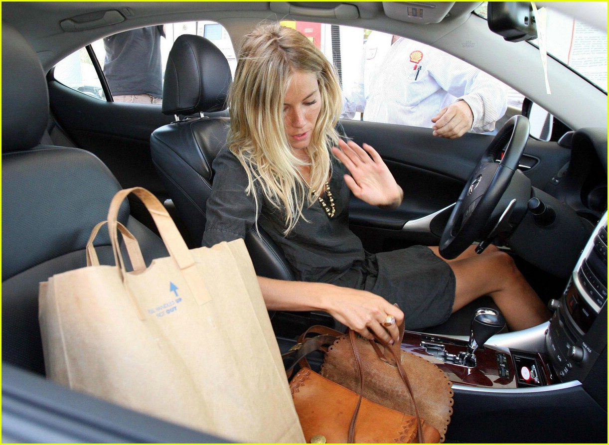 sienna miller gas station 101335651