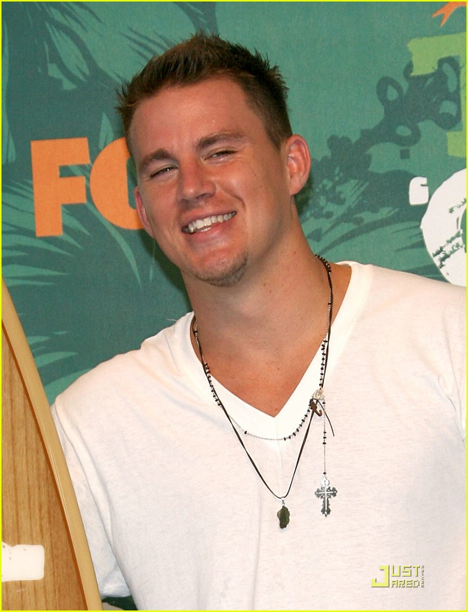 channing tatum teen choice awards 2008 17