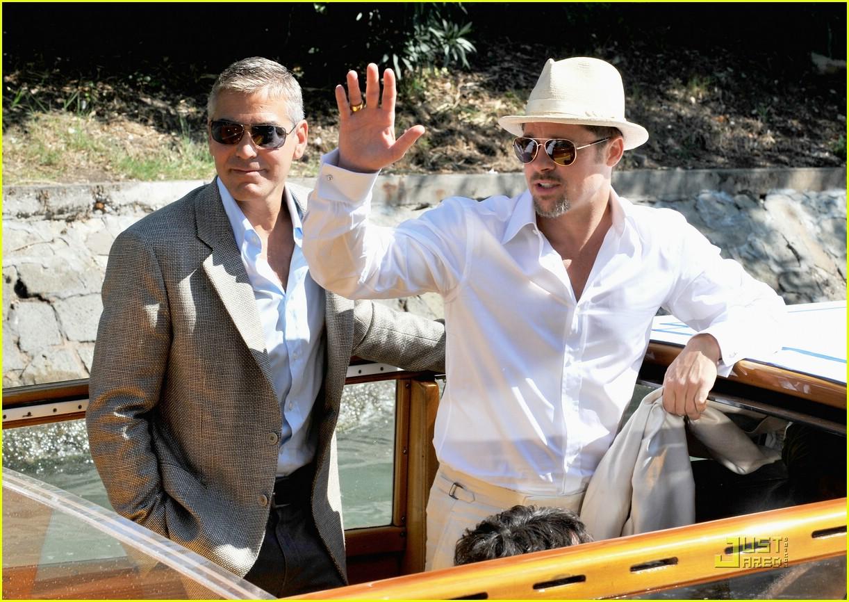 Brad and George