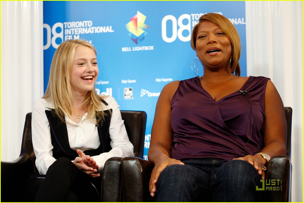 dakota fanning jennifer hudson best friends 05