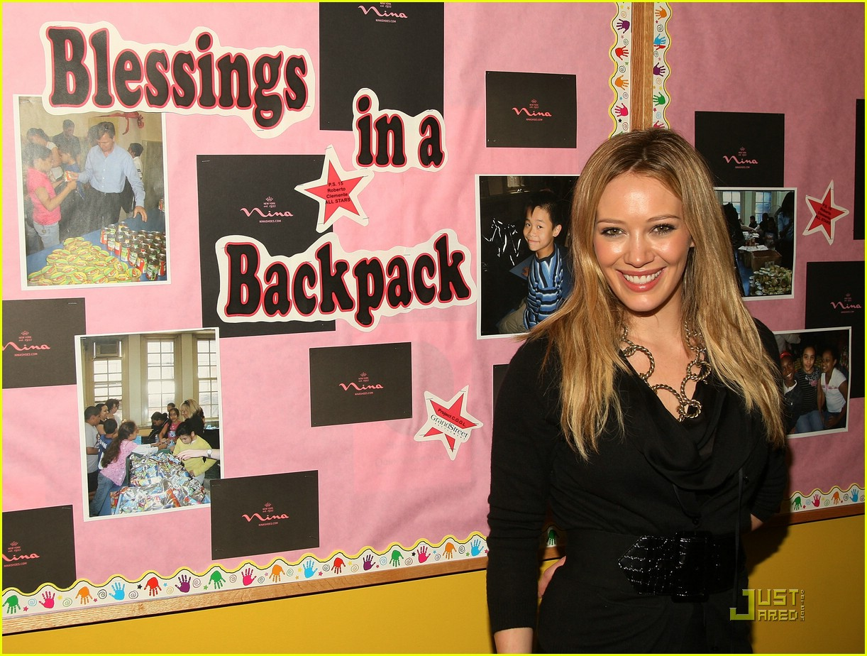 hilary duff blessings in a backpack 111503531