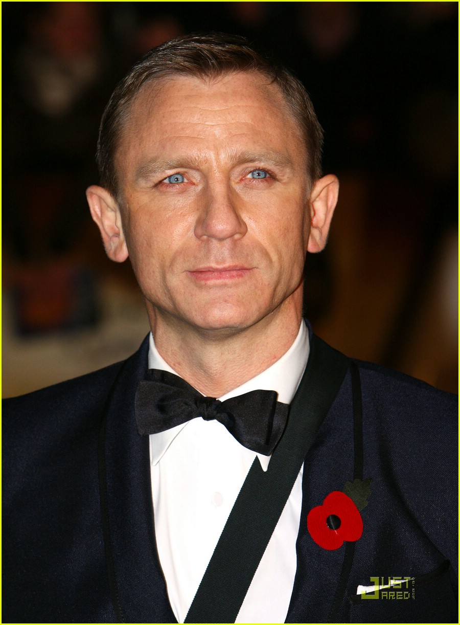 daniel craig quantum of solace world premiere 01