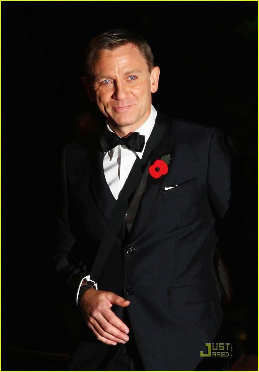 daniel craig quantum of solace world premiere 16