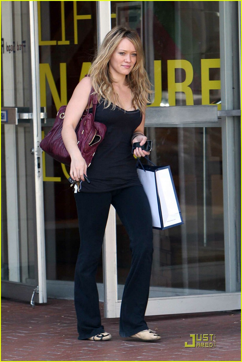 hilary duff fred segal 02