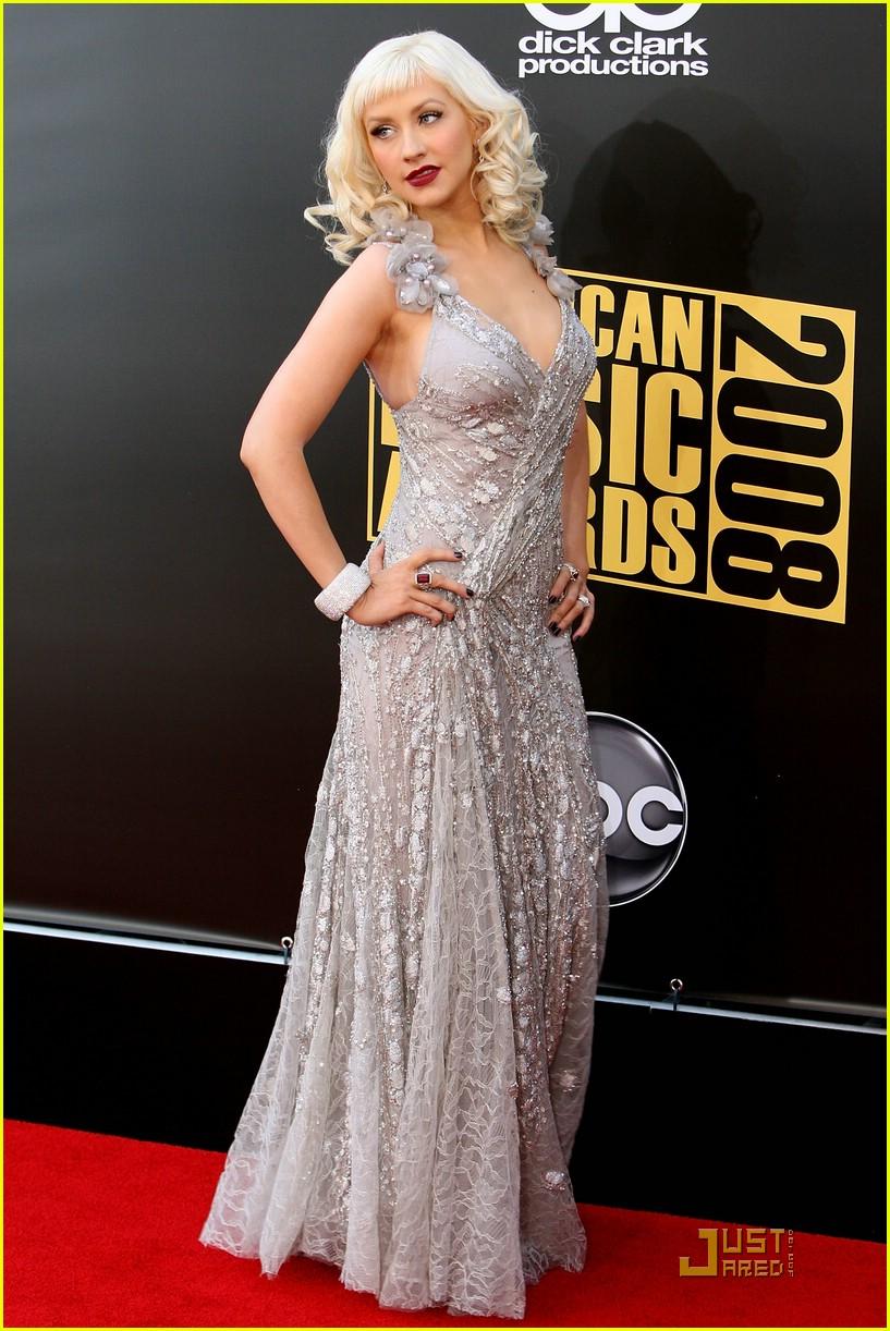 christina aguilera 2008 american music awards 03