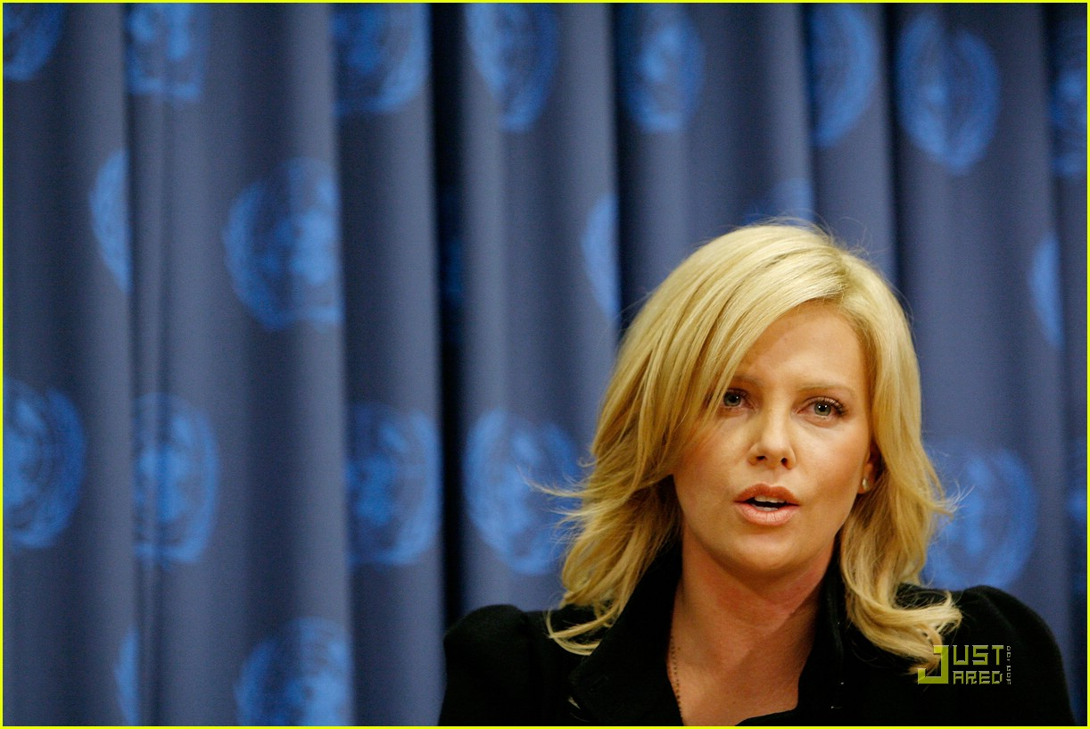 charlize theron united nations messenger of peace 16