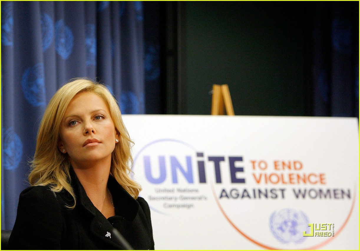 charlize theron united nations messenger of peace 25
