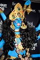 heidi klum blue indian goddess halloween 11