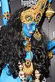 heidi klum blue indian goddess halloween 15