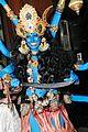 heidi klum blue indian goddess halloween 23